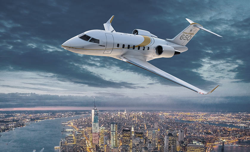Bombardier Challenger 650 new