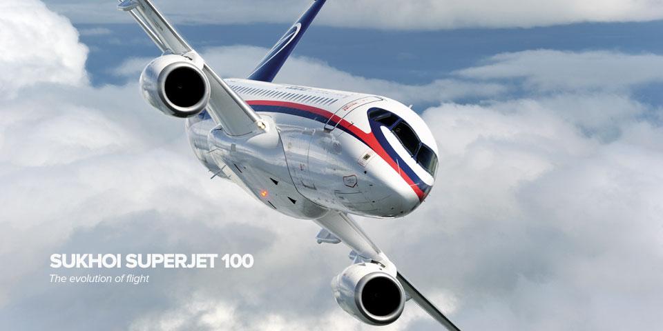 Sukhoi Super Jet 100 VIP