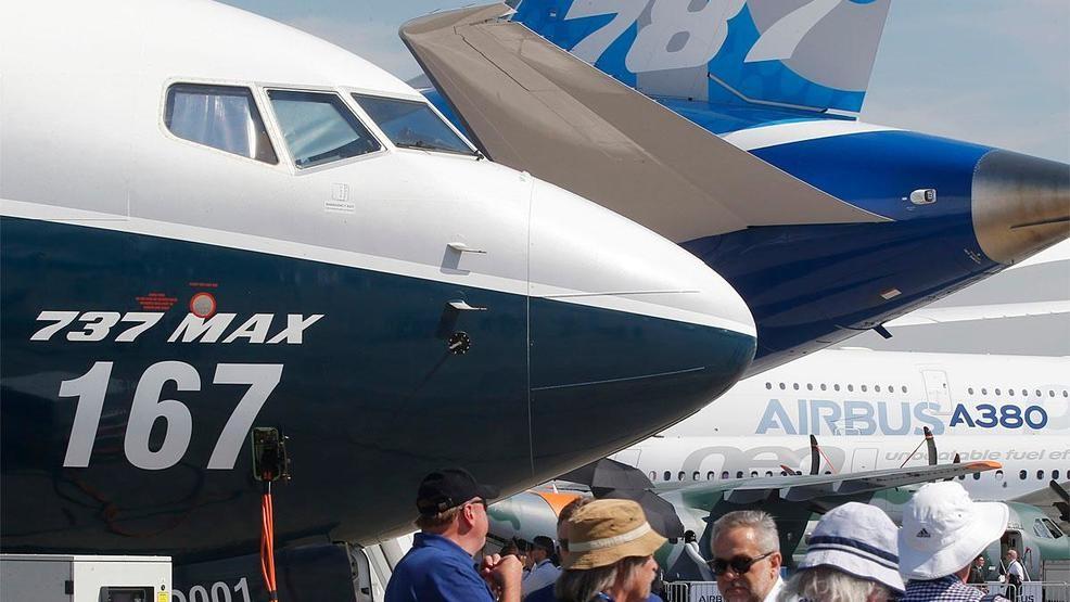 Боинг и его 737 MAX на Dubai Air Show 2017