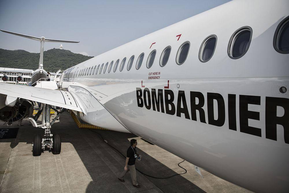Bombardier был представлен огромным павильоном на прошедшем в Дубае Air Show 2017