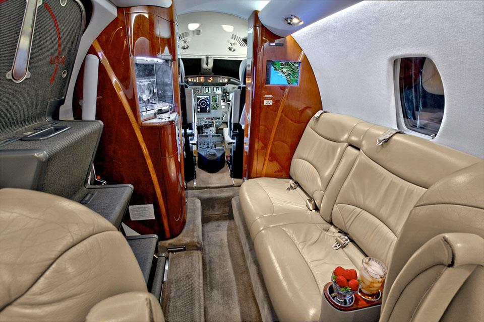Citation XLS предназначен как для бизнес перелетов, так и для полетов с компанией на отдых