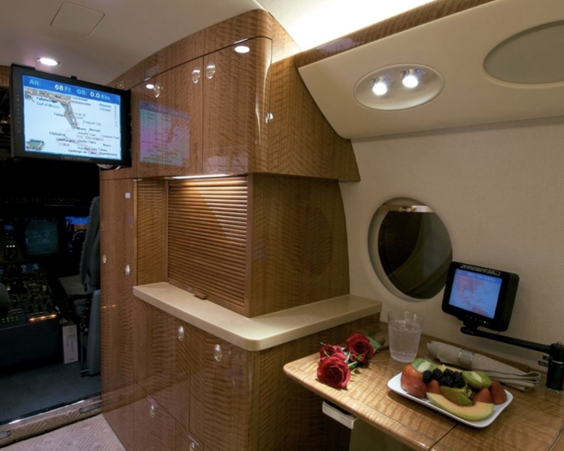 Gulfstream G150 кухня