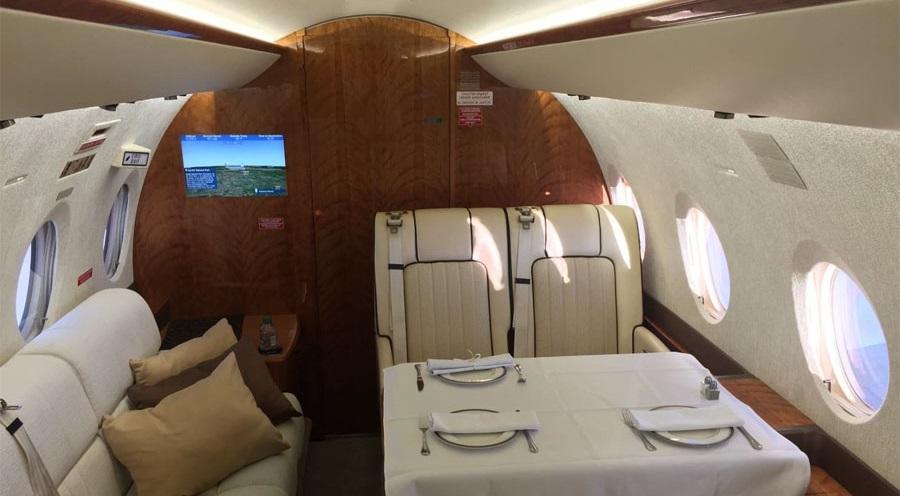 Gulfstream G280 способен выполнить рейсы Москва - Гонконг или Париж - Нью-Йорк без посадки для дозаправки