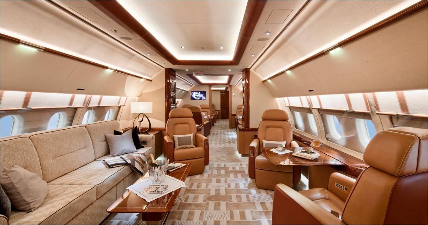 Целевое назначение ACJ A319 Corporate Jet – административные миссии и полеты для глав государств или топ-менеджеров корпораций