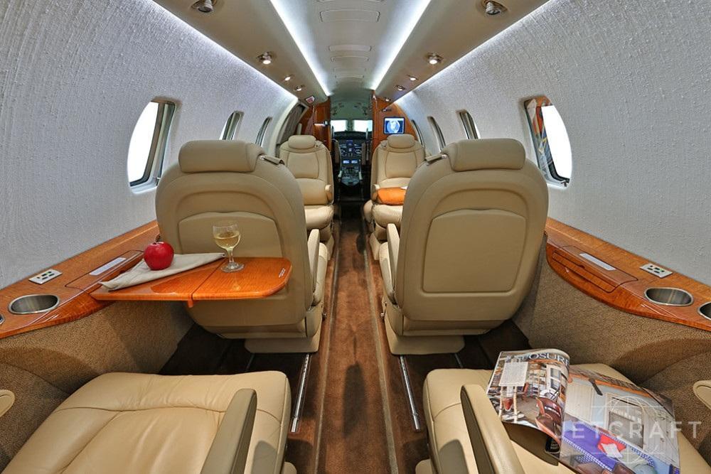 В Cessna XLS с высотой потолка дела обстоят намного лучше чем в его конкурентах
