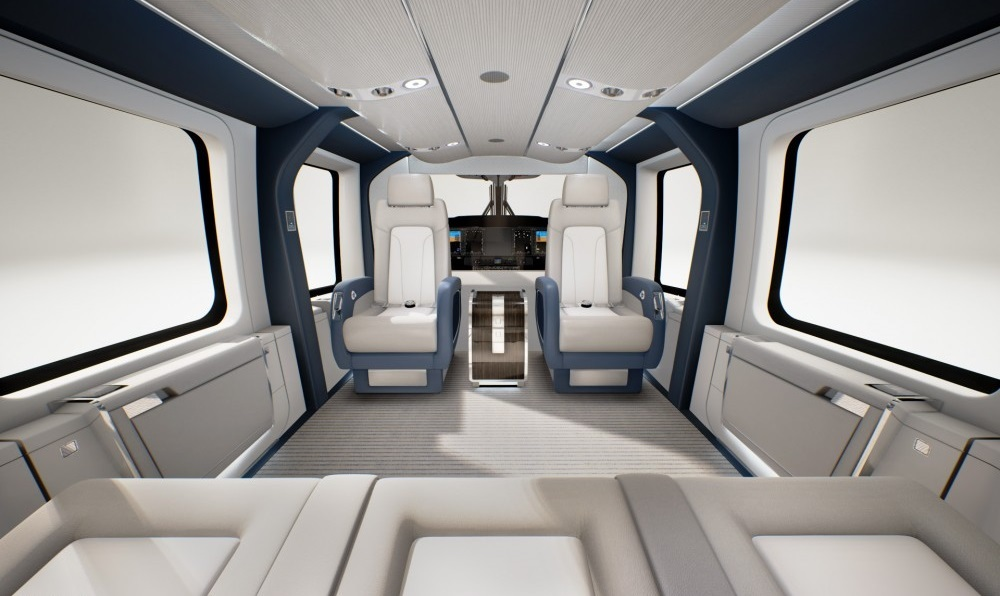 Airbus H160-VIP элементы салона - PrivateJetBooking тел.+74957773809