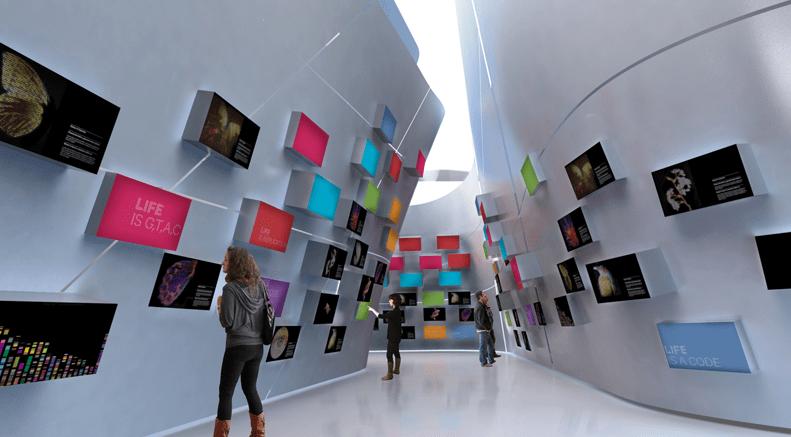 Museu do Amanha: Экспозиция музея завтрашнего дня объединяет язык искусства и точность науки при помощи аудиовизуальных дисплеев и интерактивных установок с играми на основе научных исследований.