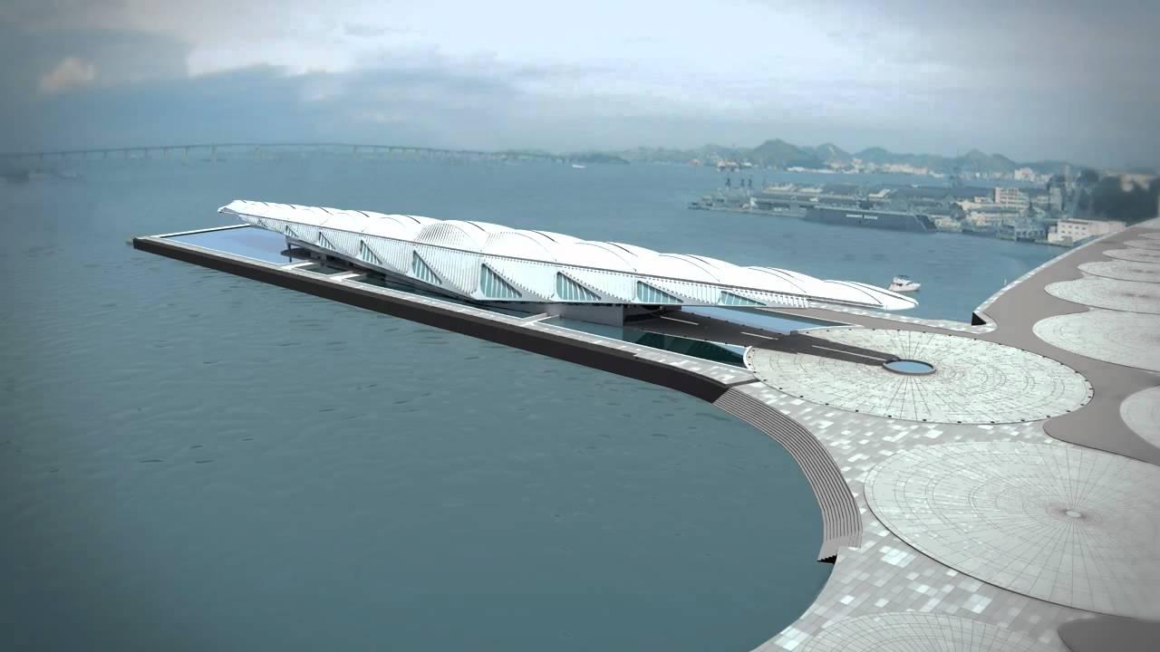 Центральное звено реконструкции портовой зоны Рио-де-Женейро, проведенной к Олимпийским играм 2016 года, — недавно построенное здание Музея завтрашнего дня Museu do Amanha