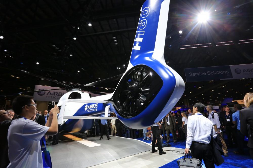 Отличительный дизайн H 160 включает в себя две новинки от Эйрбас Хеликоптерс, обеспечивающие улучшенную производительность и стабильность полета
