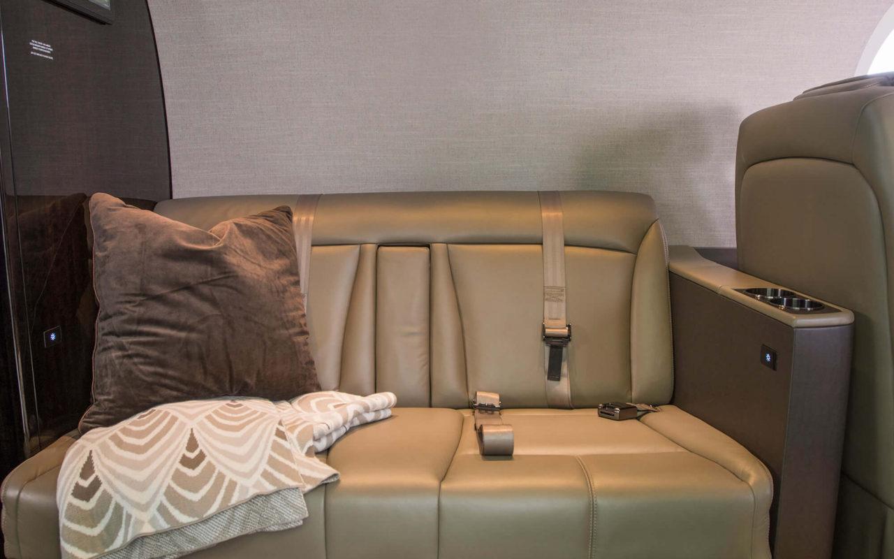 Cessna Lalitude прекрасно подойдет для полетов с полной загрузкой, поскольку пассажиры смогут удобно расположиться даже на фронтальном диване