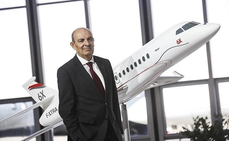 Dassault Falcon 6X CEO компании Эрик Траппьер заявляет, что предложит рынку кое-что даже лучшее