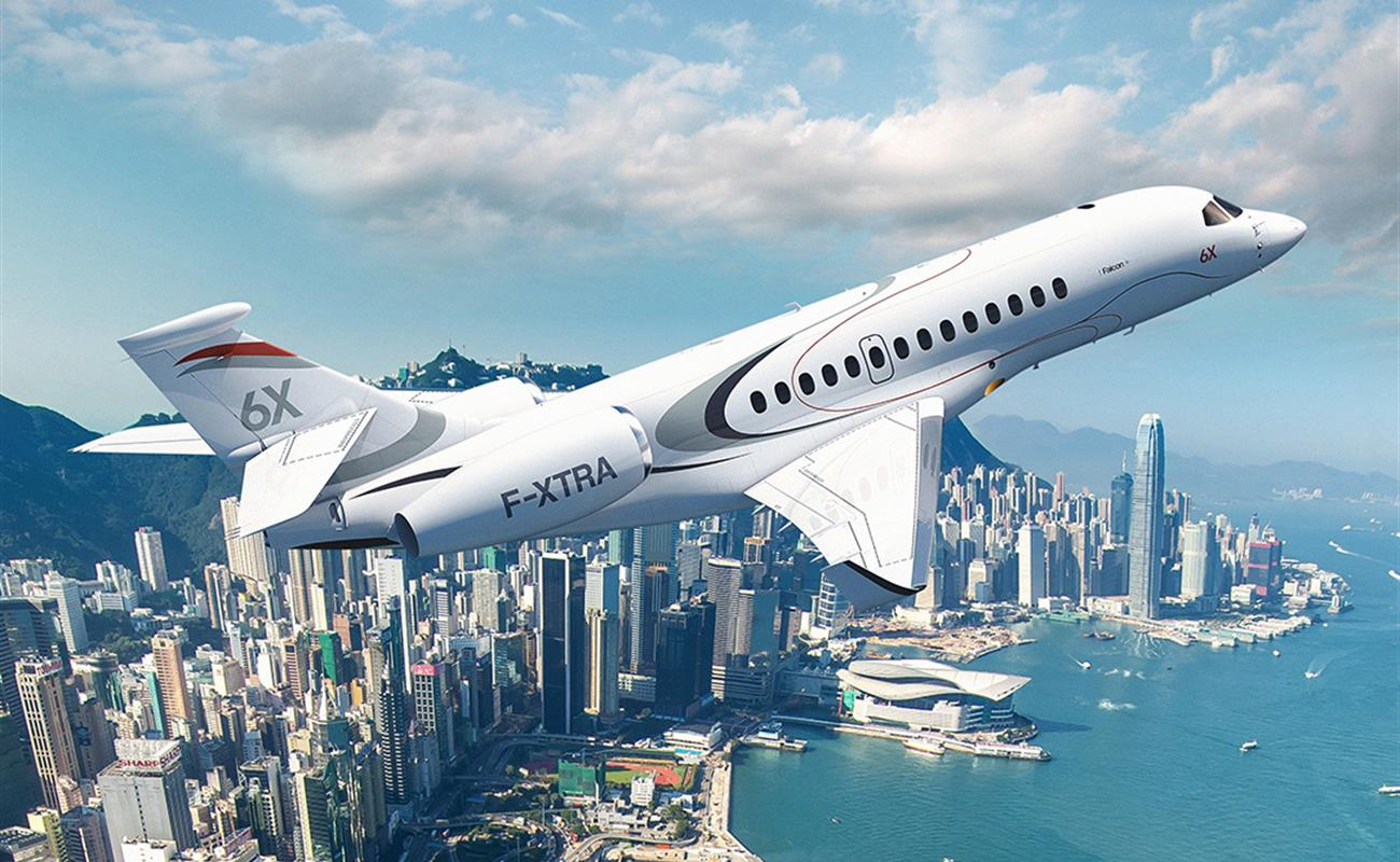 Falcon 6X по обещанию производителя даст клиентам больше за их деньги