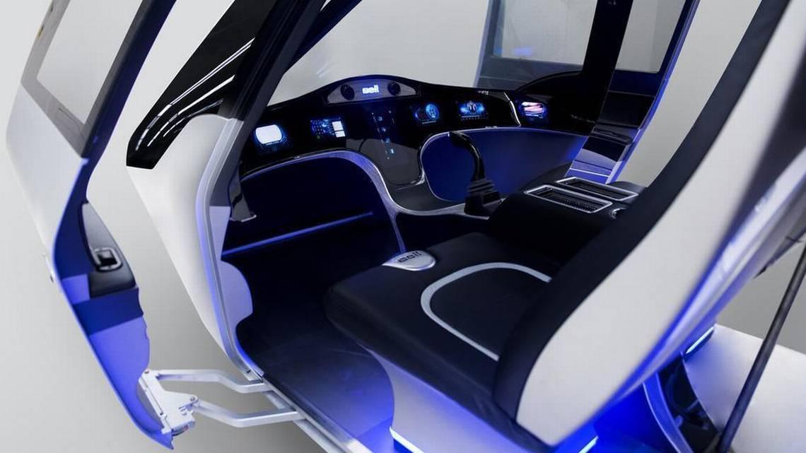 Один из вариантов кабины городского такси Bell