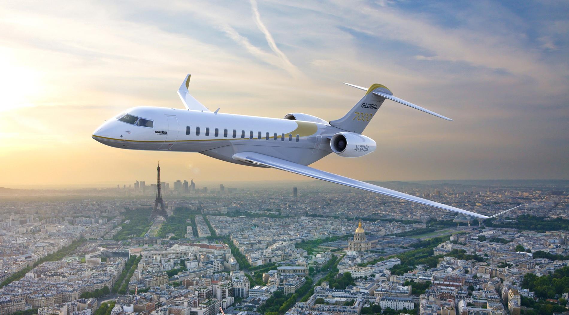 Bombardier заявили об увеличенной дальности полета для самолетов Global 7000