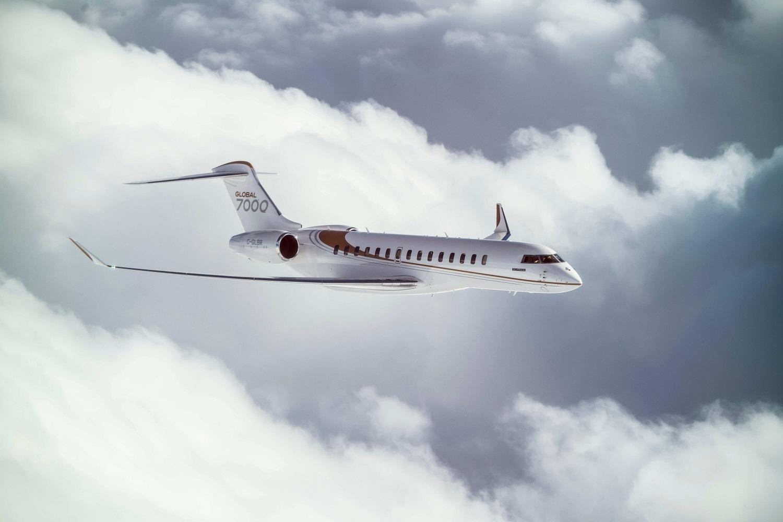 Global 7000 увеличивает дальность полета